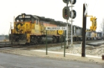 CSX 6035, Moves Slowly out of Walbridge Yard
